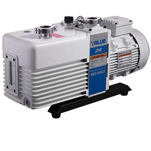 Двухступенчатый пластинчато-роторный вакуумный насос Value VRD-24