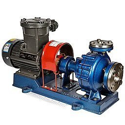 Взрывозащищенный центробежный насос для термального масла ZY Technology RY 32-32-160_Ex