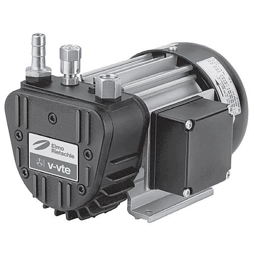 Сухой пластинчато-роторный вакуумный насос Elmo Rietschle VTE 3
