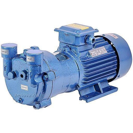 Моноблочный водокольцевой вакуумный насос SL Vacuum SKA-2061 (колесо чугун)
