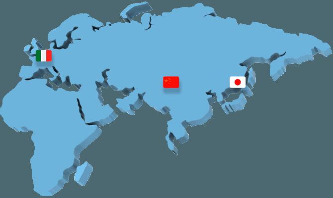 Напрямую поставляем оборудование с заводов Европы, Японии и Китая