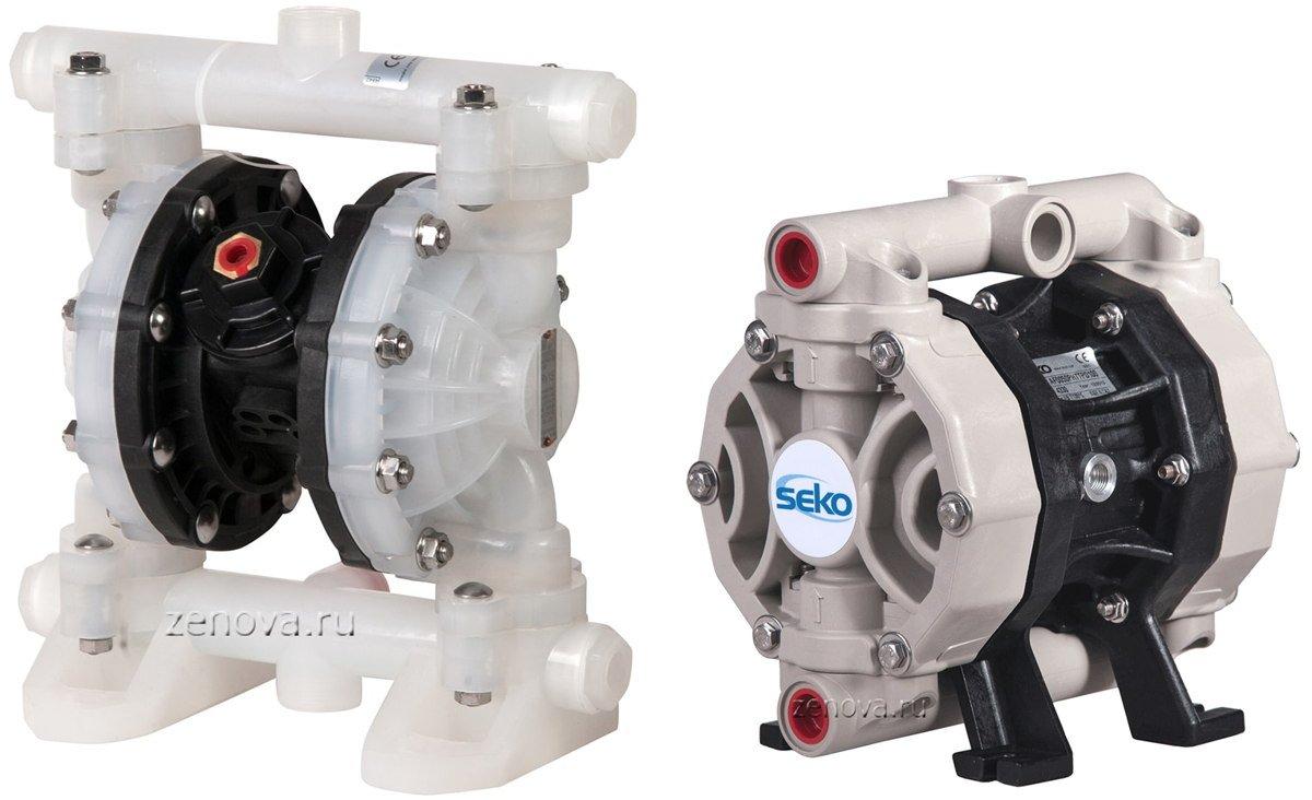 Мембранный насос Seko AF0050P против RiverWave RV15P