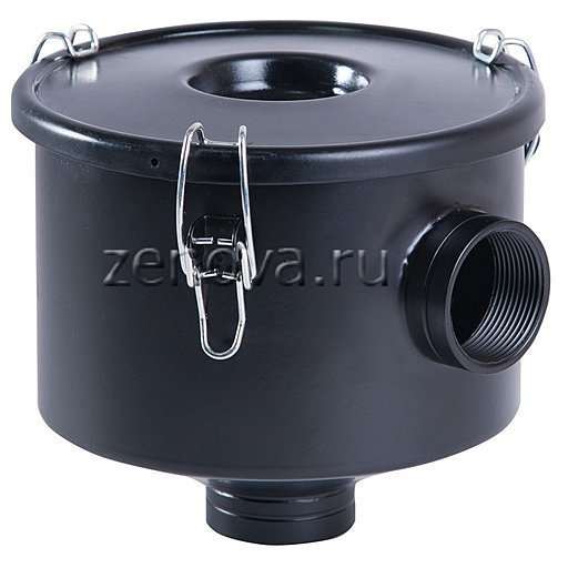 Воздушный вакуумный фильтр для вихревых воздуходувок с присоединением 25 и 32 мм
