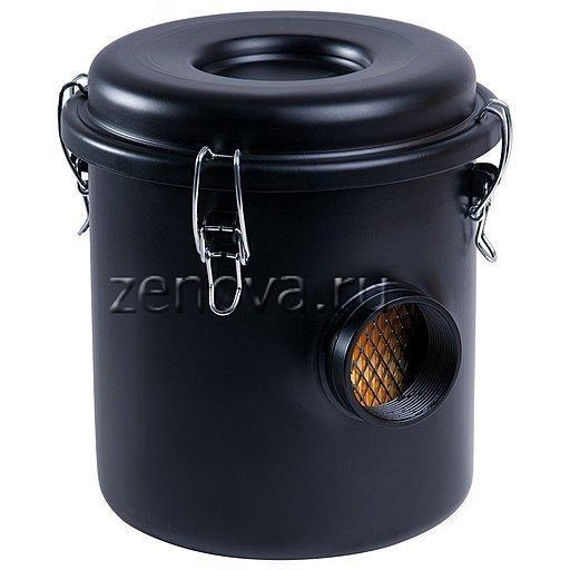 Воздушный вакуумный фильтр VF050 для вихревых воздуходувок с присоединением 50 мм
