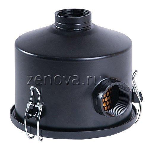 Воздушный вакуумный фильтр VF040 для вихревых воздуходувок с присоединением 40 мм